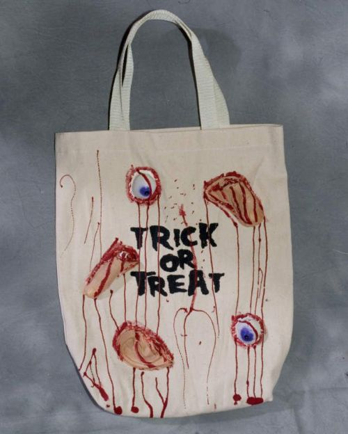 Halloween Loot Bag with Body Parts Creepy Trick Treat